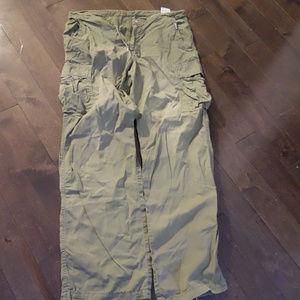 Diesel Green Cargo Pants Size M